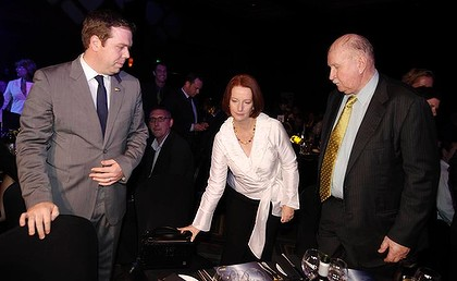 Julia Gillard - Paul Howes - Bill Ludwig