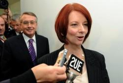 Australia's new prime minister Julia Gillard