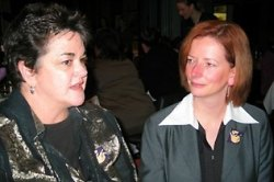 Julia Gillard and Kim Sattler 2007