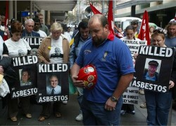 James Hardie protest