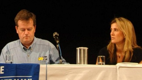 Bill Shorten and Kathy Jackson
