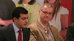 NSW Labor General Secretary Sam Dastyari and TWU National Secretary Tony Sheldon