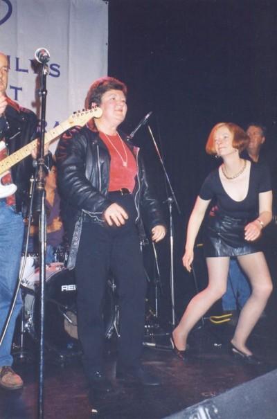 Julia Gillard dancing 1998 - Joan Kirner's 60th Birthday - Picture found on Twitter