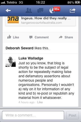 Luke Walladge slur