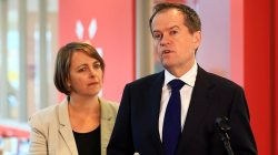 Bill Shorten and Nicola Roxon