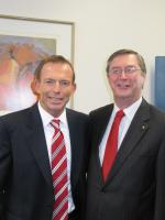 Tony Abbott and Greg Smith