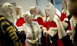 The Queen and English Judges