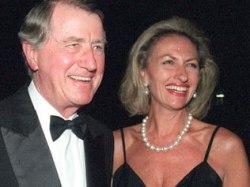 Neville Wran and Jill Wran
