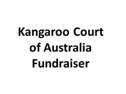 Kangaroo Court fundraiser