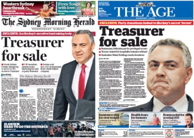 Joe Hockey v Fairfax Media 2