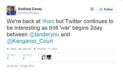 19 September - Troll War