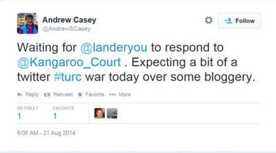 21 August - Twitter War