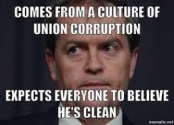Bill Shorten corruption