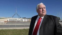 Clive Palmer Canberra