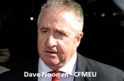 Dave Noonan CFMEU