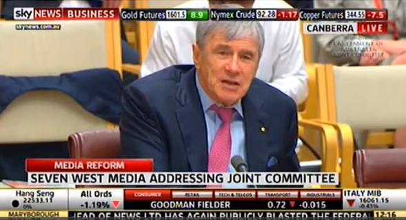 Kerry Stokes - Senate Committee