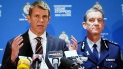 Mike Baird and Andrew Scipione
