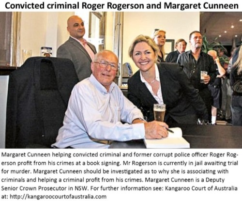 Roger Rogerson and Margaret Cunneen 2