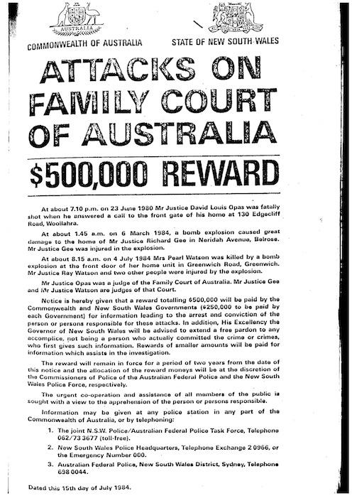 Family Court Murders poster
