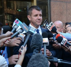 Mike Baird - Lindt Cafe Reopening