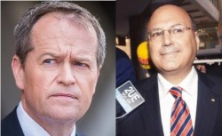 Bill Shorten - Arthur Sinodinos (2)