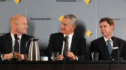 CEO Ian Narev, chairman David Turner and CFO David Craig