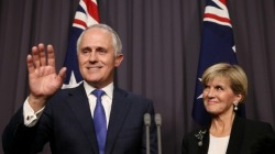 Malcolm Turnbull - Julie Bishop