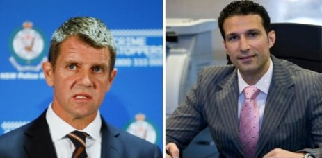 International bribery links to NSW Premier Mike Baird's