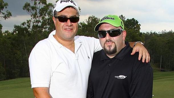 Nick Di Girolamo and Eddie Obeid Junior