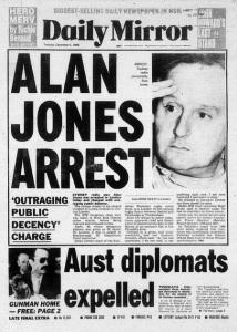 Alan Jones arrest