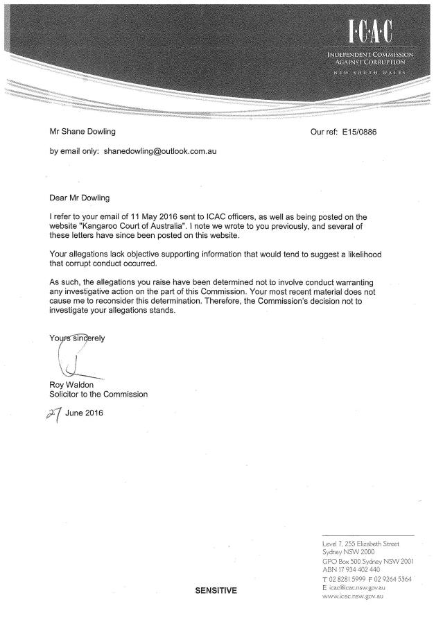 ICAC Letter 29-6-16