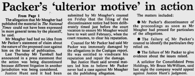 Malcolm Turnbull - Packer court case page 2