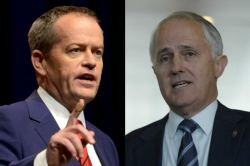 Bill Shorten and Malcolm Turnbull 2