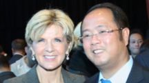 Julie Bishop - Huang Xiangmo