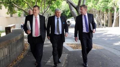 Jeff Kennett, Kerry Stokes and Tim Worner